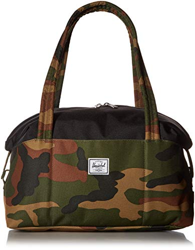 Herschel Strand Small Shoulder Bag, Woodland Camo/Black, One Size