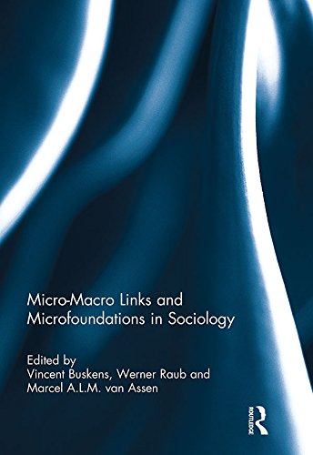 Download Micro-Macro Links and Microfoundations in Sociology Pdf