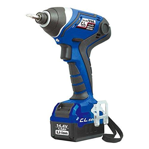 (業務用3個セット) trad 充電式インパクトドライバー(DIY用) TCL-001 14.4V ブルー スポーツ レジャー DIY 工具 その他のDIY 工具 [並行輸入品] B01HMHA9YA