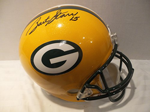 Bart Starr Signed Green Bay Packers Autographed Riddell Helmet Certified Authentic Autograph
