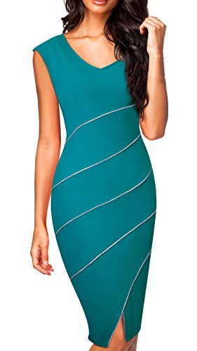 Buy below the knee length bandage dress - 5