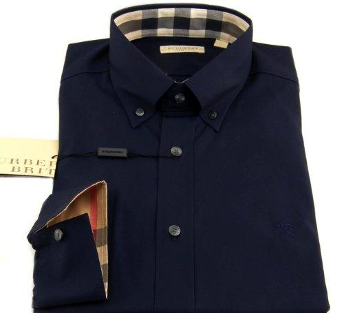 Burberry Brit Designer Herren Hemd in d.Gr. L, dunkelblau  Amazon.de   Bekleidung 0c0fcd1665