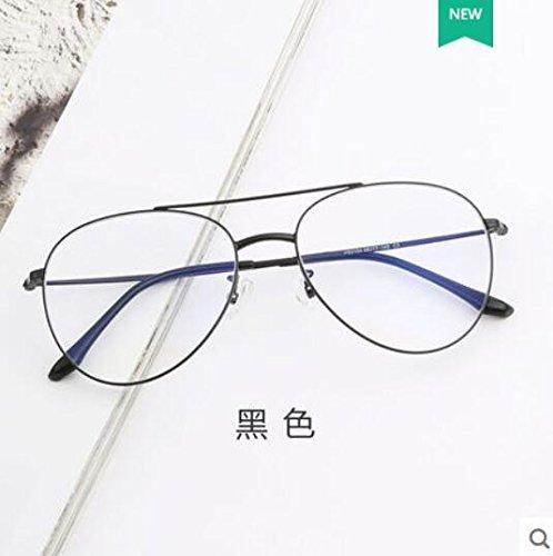 Black anti retrovisor azul gafas negro normal luz la sin cara gafas femenino lentes grande luz delgada Gafas masculino azul KOMNY bastidor Titanio Gafas contra radiaciones contra las puro espejo OqwpAc4fE