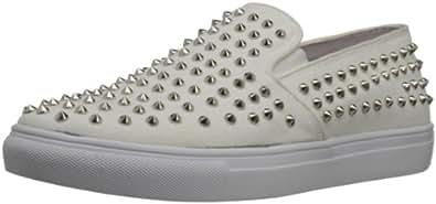 Steve Madden Men's Crank Sneaker,White,7 M US