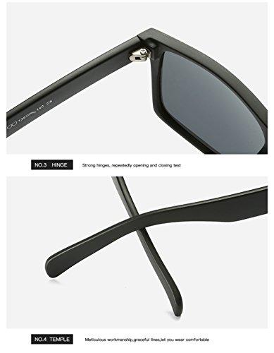 para C4 Polarizadas Protección Hombre Aviator De C3 para Gafas UV Sol Mujer 400 q7YxwEF