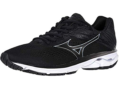 Mizuno Women's Wave Rider 23 Running Shoe, Dark Shadow, 8 B US by Mizuno