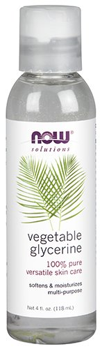 (NOW Solutions, Vegetable Glycerin, 100% Pure, Versatile Skin Care, Softening and Moisturizing, 4-Ounce)