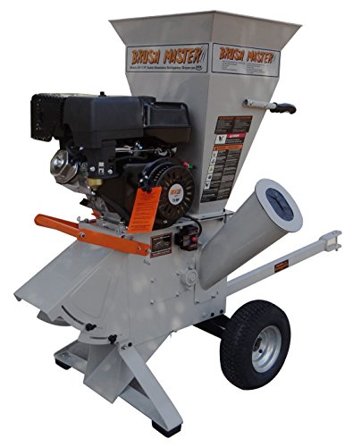Brush-Master-15-HP-420cc-4-x-3-diameter-feed-commercial-Duty-120V-Electric-Start-Chipper-Shredder
