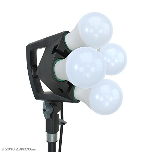 LINCO Lincostore 9600 Lumens Studio Photography Lighting kit with Auto pop-up Softbox AM247 by Linco (Image #2)