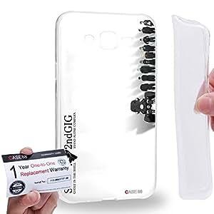 Case88 [Samsung Galaxy J7] Gel TPU Carcasa/Funda & Tarjeta de garantía - Ghost in the Shell: Stand Alone Complex Motoko Kusanagi Batou Tachikoma 3139