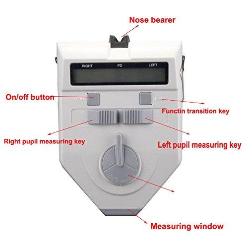 b395ecda292 FULYEE Digital Pd Meters LCD Display Optical Pd Meter Digital Pupilometer  Pupillary Distance Pd vd Meter PDs