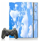Blue Sky Clouds Skin for Sony Playstation 3 Console