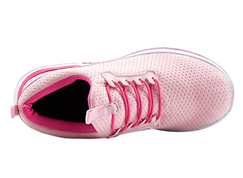 Wxdz Womens Scarpe Sportive Da Tennis Leggere Scarpe Da Ginnastica Casuali Scarpe Da Ginnastica Sportive Da Jogging Casual Rosa