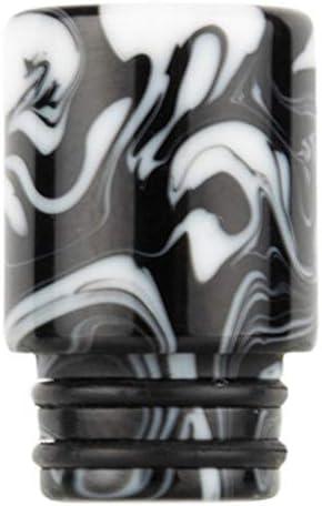 Shioyaw Reewape 正規品 電子タバコ 510規格 ドリップチップ マウスピース 買い替え やけど防止 キャップ 味重視 男女兼用 父 友人 同僚 誕生日 父の日 新年 正月 バレンタインデー プレゼント V8 baby/V12 baby/V12 Baby Princeに対応 波(H05)