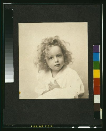 1900 Photo Portrait of a young girl with tousled hair] / the Misses Selby, N.Y.