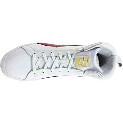 PUMA Men's Clyde Mid Core Foil White/Barbados 9 D US outlet best prices for nice cheap price discount tumblr SohoZrd