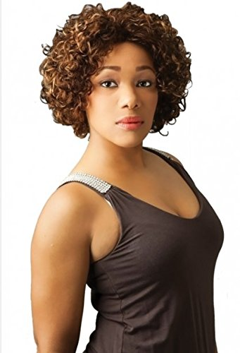 NEW BORN FREE WIG- 7016H TONI Short Synthetic Hair Wigs (Discounted Wigs)