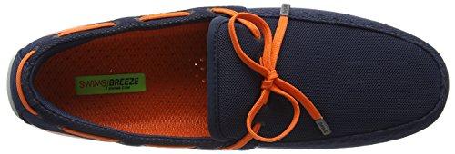 Uomo Mocassini Breeze navy Blu blu arancione Swims qf4S0