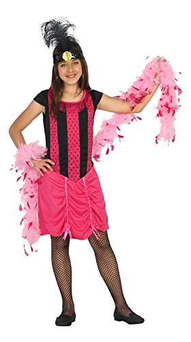 Used, Atosa 20805–Cabaret Girl Costume, Ages 4-5 for sale  Delivered anywhere in USA