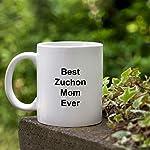 Best Zuchon Mom Ever Dog Mug - 11 oz White Coffee Cup - Funny Novelty Gift Idea 11
