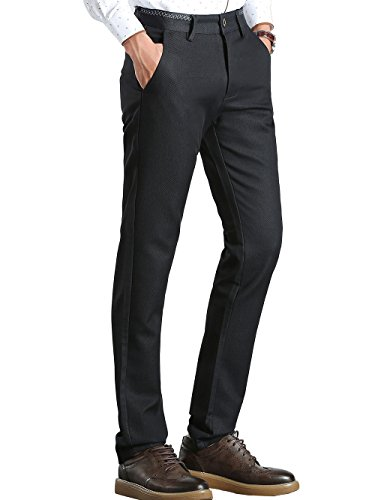 Flat Front Linen Trousers - 1
