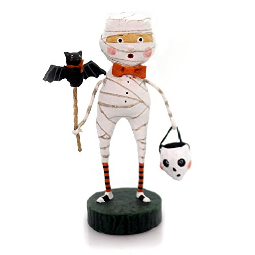 Lori Mitchell MUMMY BOY Polyresin Halloween Bandage Skeleton (Halloween Bandage Mummy)