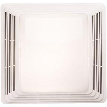 broan heavy duty ventilation fan and light combo for bathroom and home,  100-watt incandescent light, 2 5 sones, 80 cfm