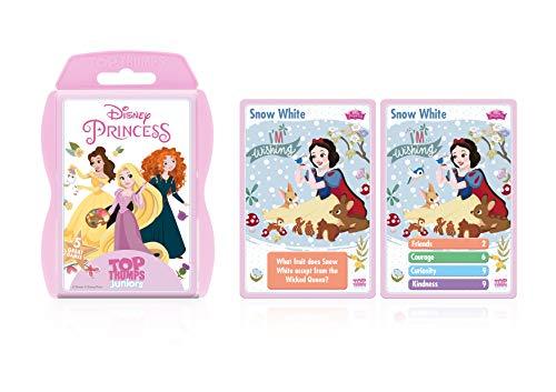 (Disney Princess Top Trumps Junior Activity Pack Card Game)