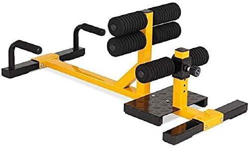 自己フィットネス ジム設備 機能的 ディープスクワット脚の筋肉トレーナーホームヒッププライベートティーチング脚フックマシン仰臥位腹部ヒップ、フィットネス機器