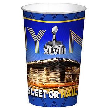 Super Bowl XLVlll 22 ounce Plastic (22 Ounce Bowl)