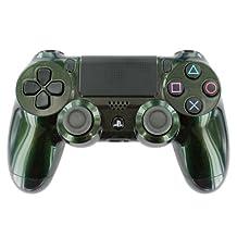 """Enigma Green Purple"" Chameleon PS4 Custom Modded Controller Exclusive Design..."