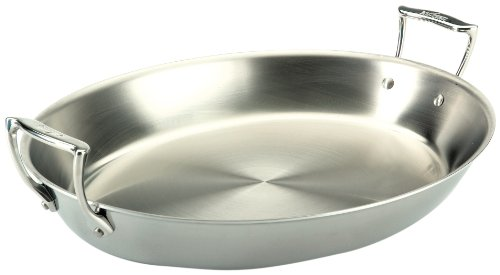 All-Clad Stainless Steel Open Oval Roaster, 17-Inch