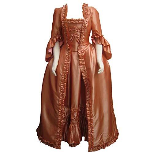 CosplayDiy Women's 18th Century Rococo Baroque Masquerade Cosplay Costume Dress XS ()
