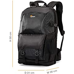 The Fastpack series has been trusted to travel for years. This next-generation pack design includes enhanced protection with a built-in All Weather AW Cover and CradleFit device compartment, plus three primary storage zones to help keep you o...