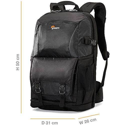 - Lowepro Fastpack BP 250 AW II - A Travel-Ready Backpack for DSLR and 15