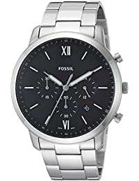 Men's 'Neutra Chrono' Quartz Stainless Steel Casual Watch, Color:Silver-Toned (Model: FS5384)