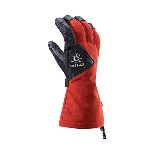 KAILAS GORE-TEX 3-in-1 Pro Ski Gloves – Women's(Dark Red,S) by KAILAS (Image #5)