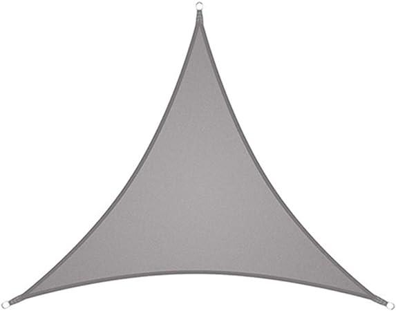 shyymaoyi Sun Shade Sail Triangle Canopy, Toldo Tela Tela Pantalla ...