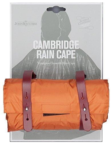 Cape Boultbee Rain Cambridge John Brooks Naranja Lluvia De Poncho qTAzX7Zw