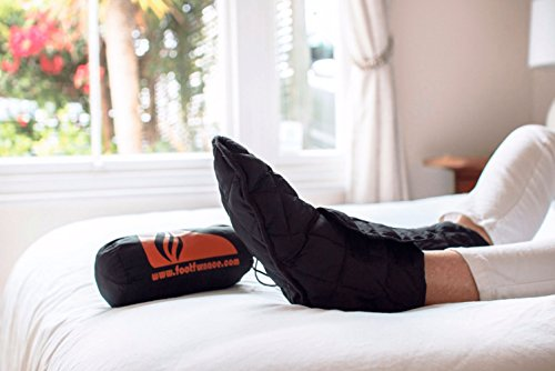 Price comparison product image Genuine Foot Furnace Luxury Bed Slipper. No More Cold Feet in Bed! A Non-powered Solution for People Suffering from Cold Feet in Bed. Perfect for Diabetics or Those Looking for Comfort from Raynaud's.