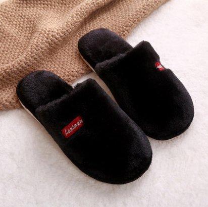 Di Homme42 Evidenziarsi Caldo Pantofola Peluche Dovessero 43 Donne Inverno Nelle Uomini piccolo Shoesblack Pantofole Imbottito Laxba Cotone z1xw64