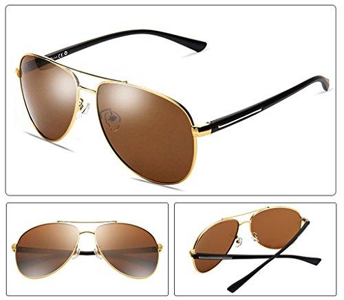 Conduite Polarized des Personal Glasses1 Mirror B Couleur Lunettes D Conduite Pilote de Lunettes Soleil de SIrRwx8qI