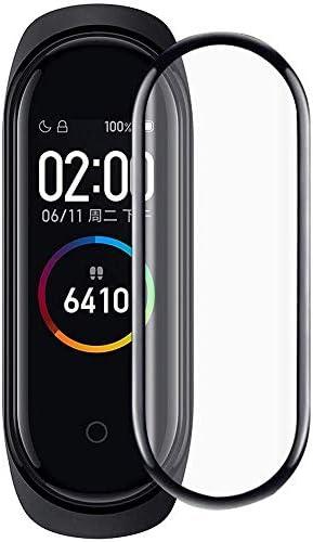 PaceBid Protector de Pantalla Compatible con Xiaomi Mi Band 4,Cobertura Completa Cristal Templado Dureza 9H Anti Arañazos Protector de Pantalla para Xiaomi Mi Band 4: Amazon.es: Electrónica
