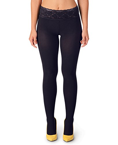 Hipstik Navy Opaque Tights