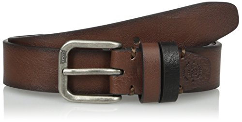 Levi's Big Boys Levi's Boys Casual Belt With Double Belt Loop, Brown, M
