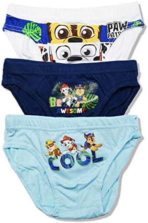 Sun City- 3 Slips niño Patrulla Canina 100% algodón (6/8): Amazon.es: Ropa y accesorios