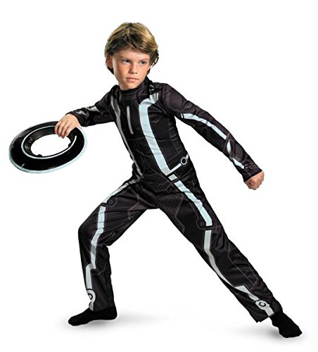 Tron Legacy Costume (Disguise Disney Tron Legacy Movie Classic Boys Costume, 10-12)