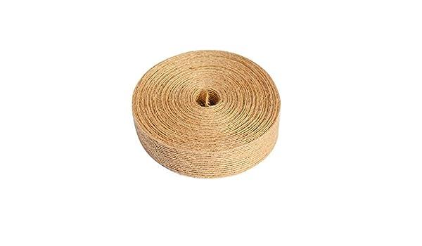DEESEE(TM) - Cinta de yute de seda para decoración de bodas ...