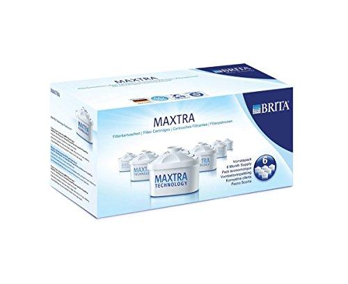 [並行輸入品]ブリタ(BRITA)マクストラ (MAXTRA)浄水器ポット交換用カートリッジ 6個入り