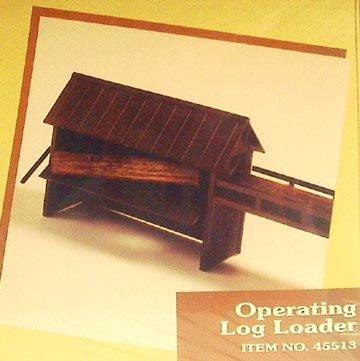 Ho Log - Ho Train Building KIT - Operating LOG Loader